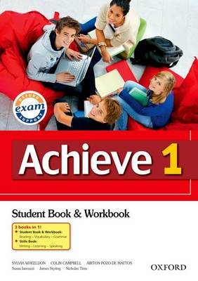 Achieve 1 Combined Student Book, Workbook and Skills Book