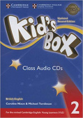 Kid's Box Updated edition 2 Class Audio CDs (4)