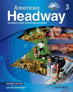 American Headway Second Edition 3 Student Book with Student Practice MultiROM