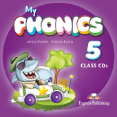 My Phonics 5 Class Audio CD (set of 2)