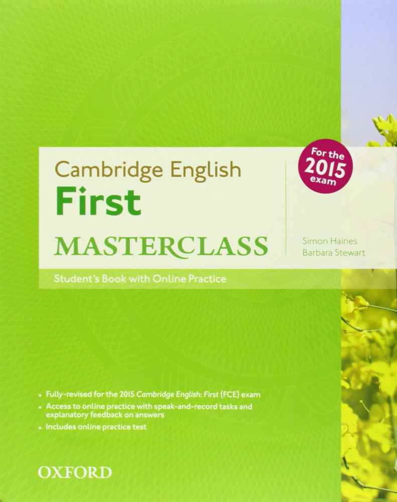 Cambridge English First Masterclass Student's Book and Online Practice Pack (For 2015)
