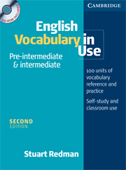 English Vocabulary in Use: Pre-intermediate and Intermediate (Second Edition) Book with answers and CD-ROM