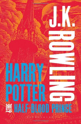 Harry Potter and the Half-Blood Prince (Book 6) - Adult Cover