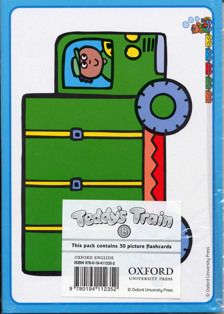 Teddy's Train Flashcards B