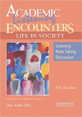 Academic Listening Encounters: Life in Society Class Audio CDs(3)