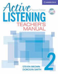 Active Listening 2nd Edition Level 2 Teacher's Manual with Audio CD