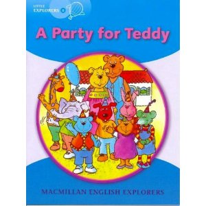 Little Explorers B: A Party for Teddy (Big Book)