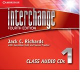 Interchange Fourth Edition 1 Class Audio CDs (3)