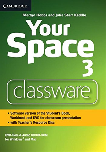 Your Space 3 Classware DVD-ROM with Teacher's Resource Disc