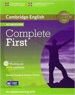 Complete First Second edition (for revised exam 2015) Workbook with Answers with Audio CD
