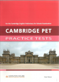 Practice Tests for PET: Teacher's book