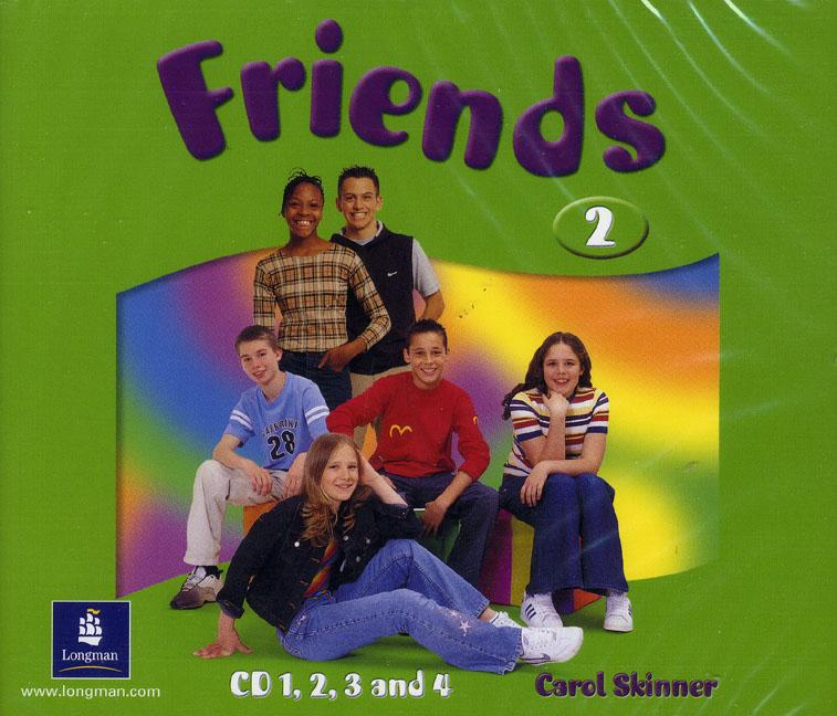 Friends 2 Class Audio CD (4) (Лицензия)