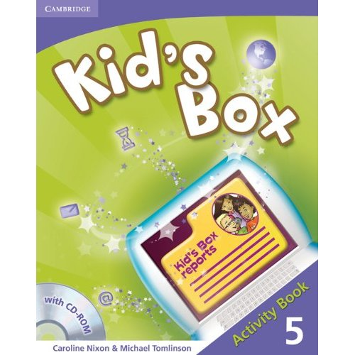 Kid's Box Level 5 Activity Book with CD-ROM
