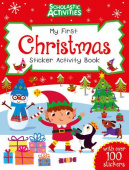Scholastic Activities. My First Christmas Sticker Activity Book