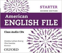American English File Second edition Starter Class Audio CDs