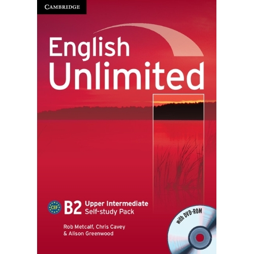 English Unlimited Upper Intermediate Self-study Pack (Workbook with DVD-ROM)