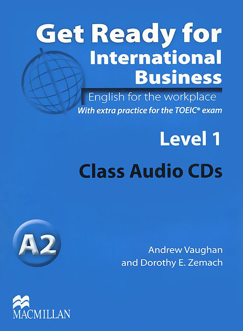 Get Ready for International Business Level 1  Class Audio CDs (TOEIC)