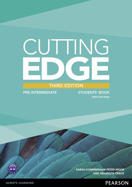 Cutting Edge 3rd Edition Pre-intermediate Students' Book (with DVD)