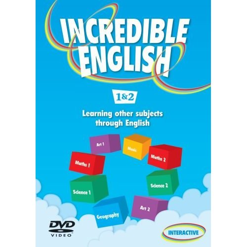 Incredible English 1 & 2 DVD