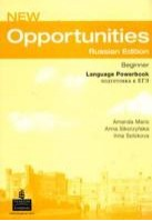 New Opportunities (Russian Edition) Beginner Language Powerbook