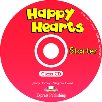 Happy Hearts Starter Class Audio CD