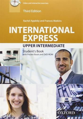 International Express Third Edition Upper-Intermediate Student's Book with Pocket Book and DVD-ROM