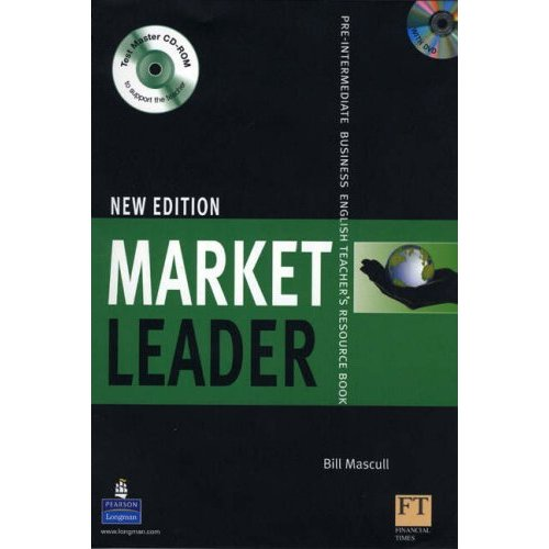 New Market Leader Pre-Intermediate Teacher's Resourse Book  with DVD and CD-ROM