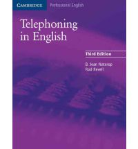 Telephoning in English Student's book