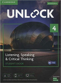 Unlock 2nd edition 4 Listening, Speaking & Critical Thinking Student's Book, Mob App and Online Workbook