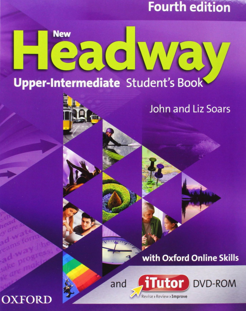 New Headway Upper-intermediate Fourth Edition Students Book & Itutor & Online Practice Pack