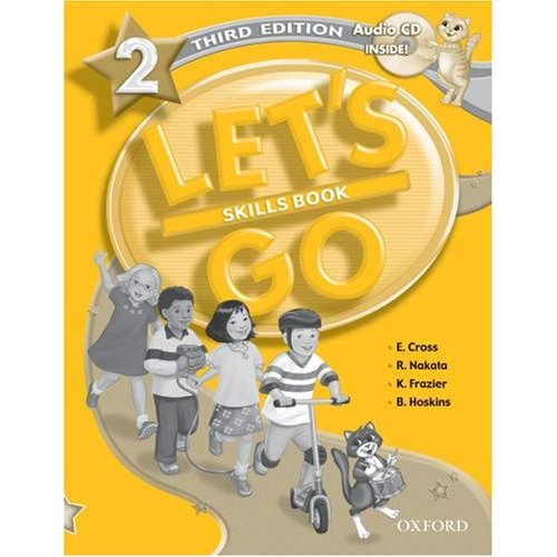 Let's Go Third Edition 2 Skills Book with Audio CD Pack