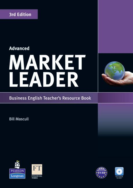 Market Leader 3rd Edition Advanced Teacher's Book with Test Master CD-ROM