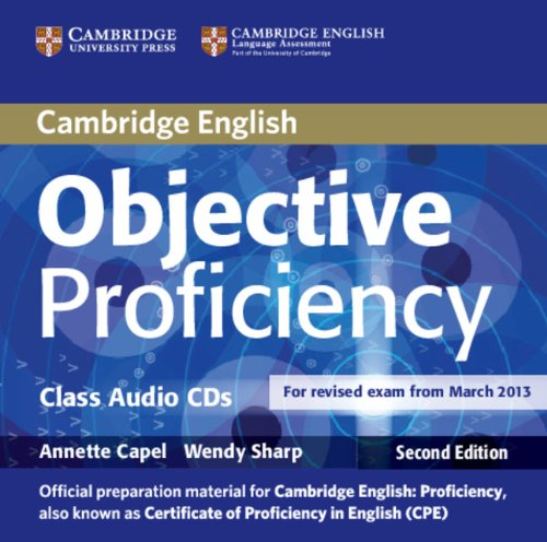 Objective Proficiency (Second Edition) Class Audio CDs (2) (Лицензия)