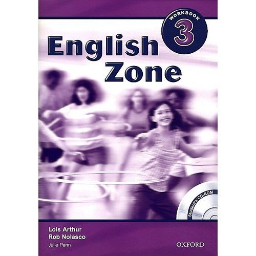English Zone 3 Workbook With CD-Rom Pack