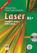 Laser Third Edition B1+ Student's Book and CD ROM Pack + MPO + e-book