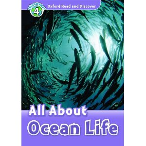 Oxford Read and Discover Level 4 All About Ocean Life Audio CD Pack
