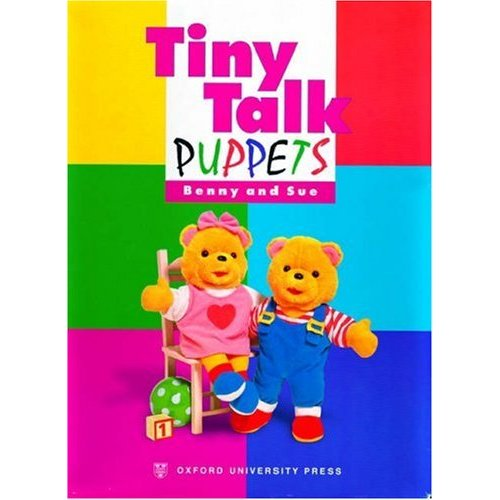 Tiny Talk Puppets Benny and Sue
