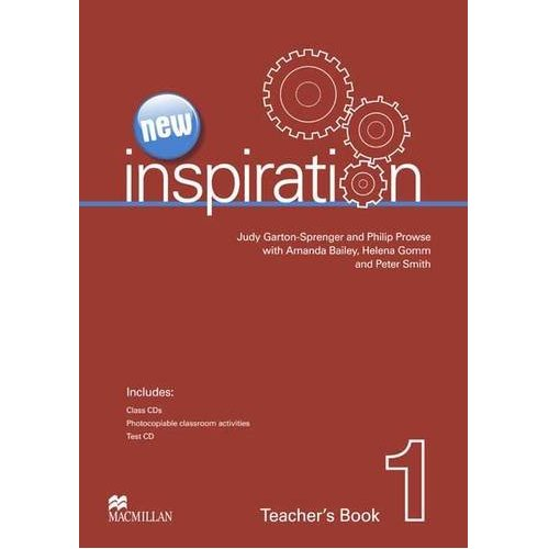 New Inspiration 1 Teacher's Book & Test CD & Class Audio CD Pack