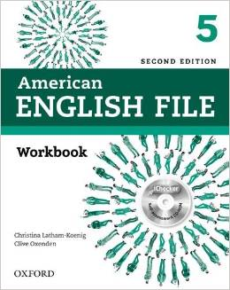 American English File Second edition Level 5 Workbook with iChecker