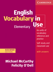 English Vocabulary in Use: Elementary (Second Edition) Book with answers