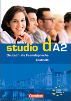 "studio d A2 Testheft mit Modelltest ""Start Deutsch 2"" mit Audio-CD"