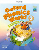Oxford Phonics World 2 Student Book with App Pack
