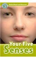 Oxford Read and Discover Level 3 Your Five Senses Audio CD Pack