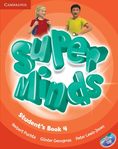 Super Minds Level 4 Student's Book with DVD-ROM