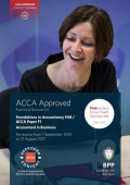 FIA Foundations of Accountant in Business FAB (ACCA F1): Practice and Revision Kit 2017