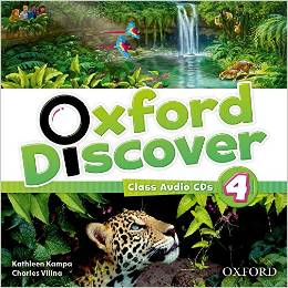 Oxford Discover 4  Class Audio CDs