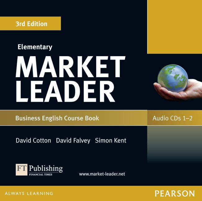 Market Leader 3rd Edition Elementary Coursebook Audio CDs (2) (Лицензия)