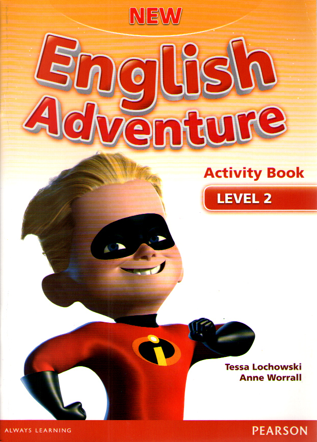 New English Adventure 2 Activity Book and Songs CD Pack