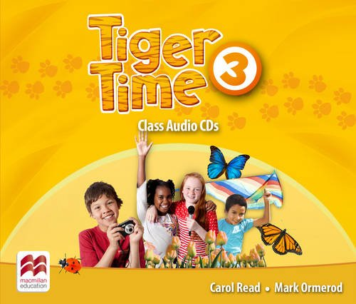 Tiger Time 3 Class Audio CDs
