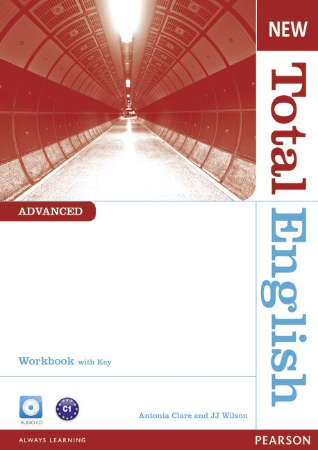 New Total English Advanced Workbook (with Key) and Audio CD
